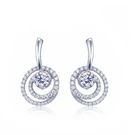 Isabella Genuine 925 Sterling Silver Earrings