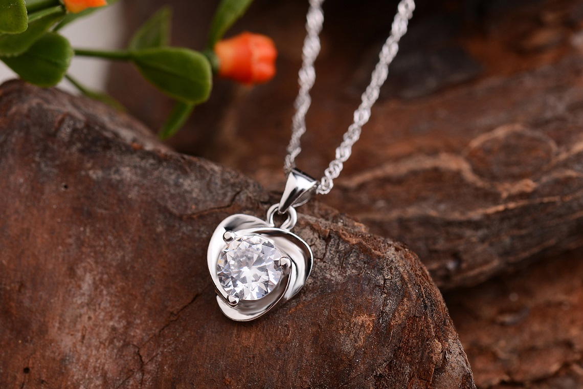 Evelyn Genuine 925 Sterling Silver Pendants